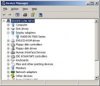 Device Manager Radeon 7000